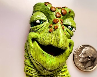 Crush the Turtle from 'Finding Nemo' Sculpted Lapel Pin or Magnet - Hand Painted & Resin Cast