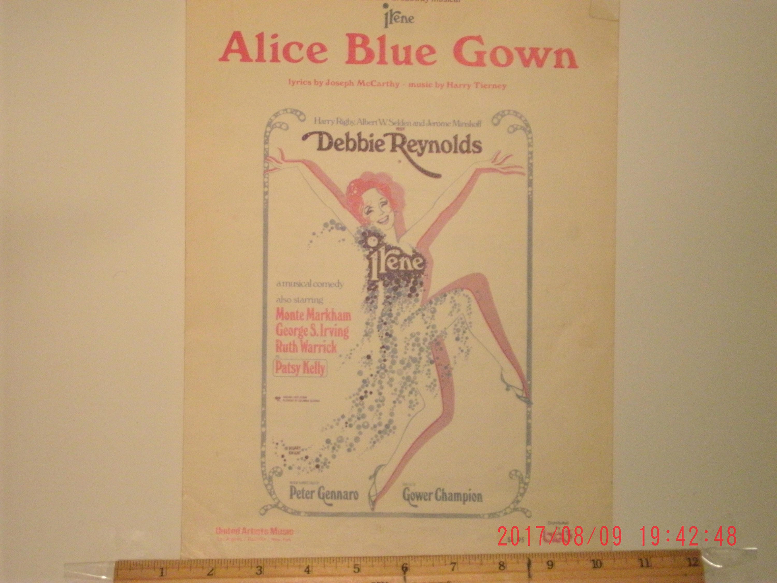 Alice Blue Gown Sheet Music by Joseph McCarthy and Harry   Etsy