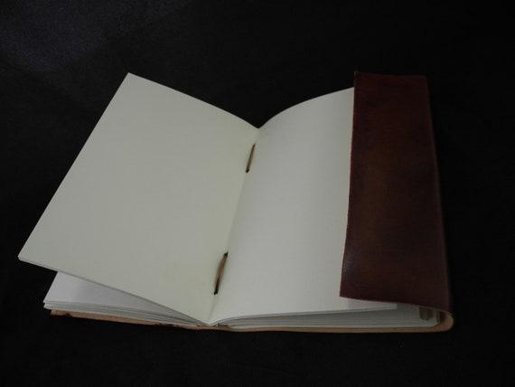 Cooper/'s Hawk A5 Handmade Leather Journal Diary Birdwatcher/'s Journal