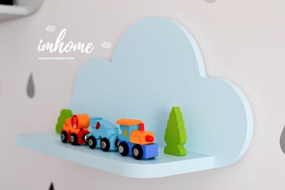 Baby Slaapkamer Decoratie : Wolk schap plank voor baby kleuter kinderen kamer muur etsy