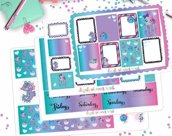 Under The Sea Planner Kit! 4 Pages!