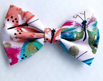 18fc19e6b9397 Butterfly dog Bow Tie, summer bowtie, Dog Accessories, Dog Clothe, Dog Bow  tie, Puppy Bow, Pet Scarf, girl dog bowties, pink dog bow tie