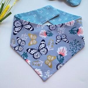 Spring Succulent Bandana /& Bow Tie Set
