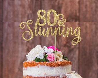 20 Und Atemberaubende Kuchen Topper 20 Geburtstag Partei Etsy