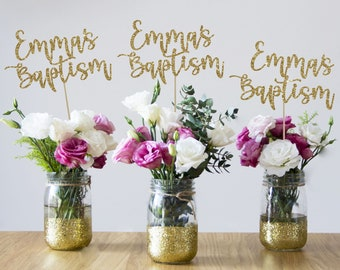 Baptism Centerpieces Etsy