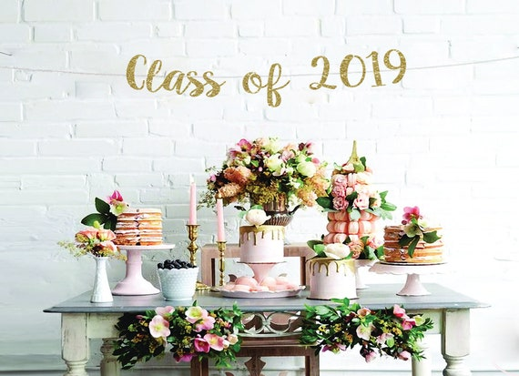 Class of 2019 banner graduation party graduation decoration grad party  ideas graduation backdrop graduation party decor graduation 2019