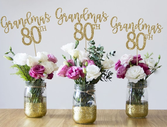 8th birthday centerpieces 8th centerpieces 8th birthday party 8th  birthday decor gold 8th birthday party decorations 8th party decor