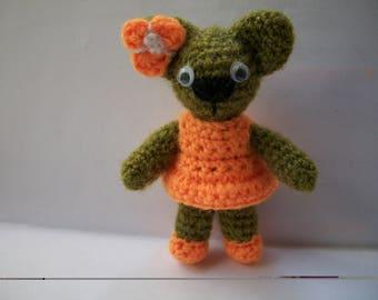 Crochet Amigurumi Bear/вязаная мишутка амигуруми