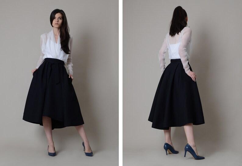 d887c5a2a Elegant silk skirt
