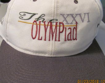 The XXVI Olympiad cap 1996 Olympics Pre owned mint cap free shipping!!!