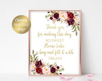 Awe Inspiring Sweets Table Sign Etsy Home Interior And Landscaping Eliaenasavecom
