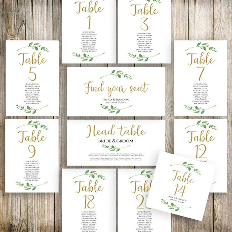 photograph regarding Printable Wedding Seating Chart Template known as Printable Marriage Seating Template Seating Software Marriage ceremony Seating Playing cards Desk Playing cards Seating Playing cards Floral Seating Chart Template Jasmine