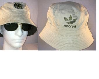 9a7602de18f The Stone Roses Reni Inspired Embroidered Lemon Adored Spike Island Bucket  Hat Festival Fishing Garden Sun Hat Present Gift Unisex Men Women
