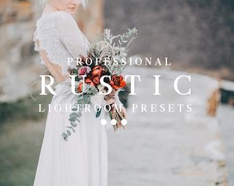 Rustic desktop lightroom presets, Wedding Outdoor presets, Blogger Instagram filters, pro presets, Creative color presets for photographers