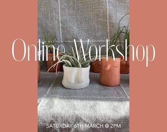 You Grow Girl Boob Pot Workshop Saturday 6th March