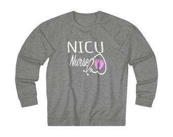 NICU Nurse Unisex Heavyweight Fleece Crew