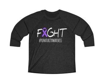 FIGHT / Preemie Mom / Preemie Mom gift / NICU Walk / Prematurity Awareness / Miracle / Mom shirt / Preemie mom