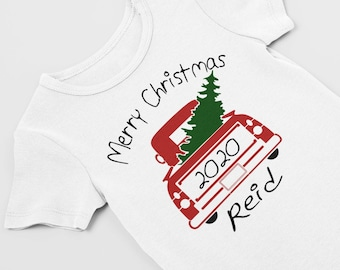 My first Christmas / personalized Christmas / preemie christmas /preemie clothes / NICU / Christmas bodysuit / preemie girl /first Christmas