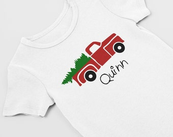 Preemie christmas / preemie clothes / NICU / Christmas bodysuit / preemie girl /preemie boy / clothes / first Christmas