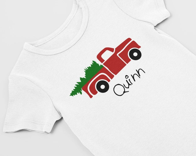 Preemie christmas / preemie clothes / NICU / Christmas bodysuit / preemie girl /preemie boy / clothes / first Christmas