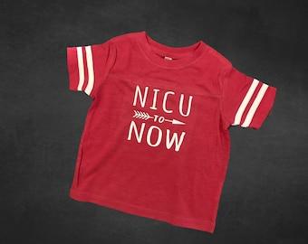 First birthday / Nicu walk shirts / Preemie Birthday / NICU to Now / prematurity awareness/ nicu walk / NICU baby / Preemie clothes /Toddler