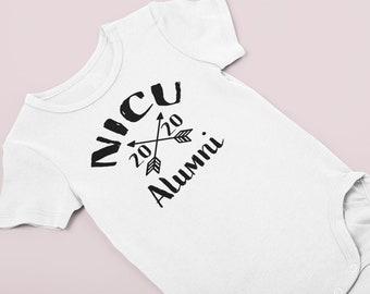 NICU Alumni / Preemie clothes / NICU Grad / Preemie girl clothes / Preemie boy clothes / bodysuit /Preemie girl / preemie toddler / NICU