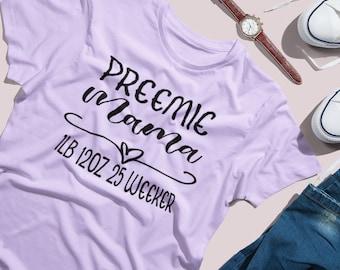 I only make miracles / mom shirt / nicu mom / preemie mom / miracle mom / t-shirt / NICU walk
