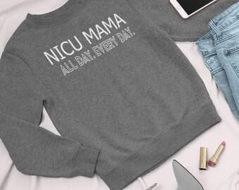 NICU Mama All Day Every Day / NICU Mom shirt / Preemie mom shirt / mom shirt / preemie baby / NICU awareness / Prematurity awareness/preemie