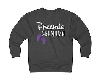 Preemie Grandma / Preemie Mom / Tiny but Mighty / prematurity awareness / preemie clothes  / nicu grandma / grandma shirt / Mother's Day