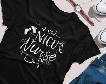 NICU Nurse / Nurse Shirt / NICU Miracle crew / nurse / nurse gift / NICU Nurse gift / preemie / prematurity awareness / nurse life / nurse