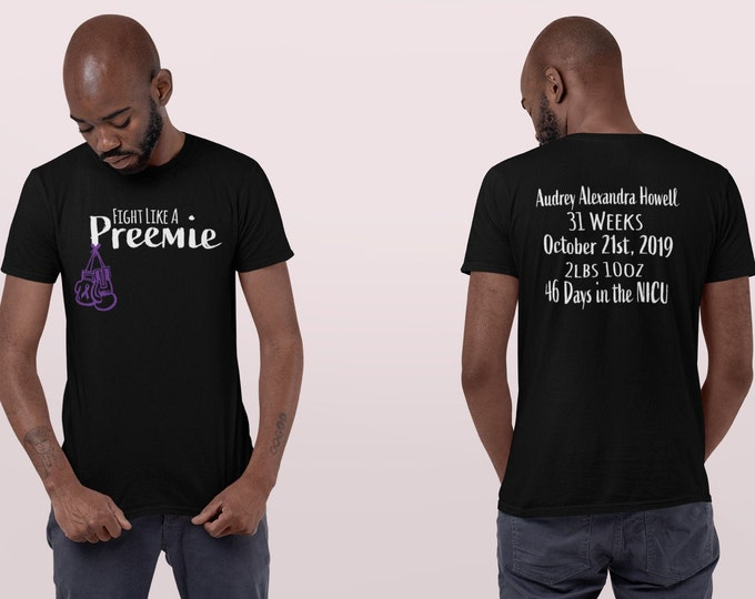 preemie clothes /Personalized  / NICU / NICU mom / Preemie mom / Preemie gift / Preemie miracle