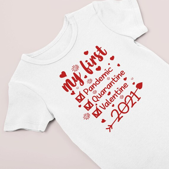 Valentine's day clothes / Valentine's Day Bodysuit / NICU Sweet heart / Pandemic Valentine's Day / Preemie bodysuit / preemie girl clothes