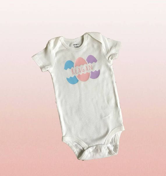 Easter Bodysuit / Baby girl bodysuit /preemie clothes / Preemie girl bodysuit / preemie girl clothes /personalized