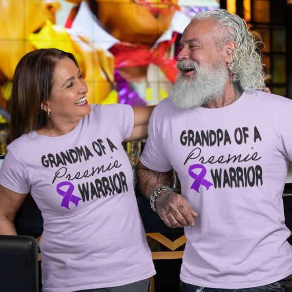Preemie Grandma / preemie grandpa / Grandparent set / Grandma shirt / preemie clothes / nicu / preemie / grandma gift / preemie grandma gift