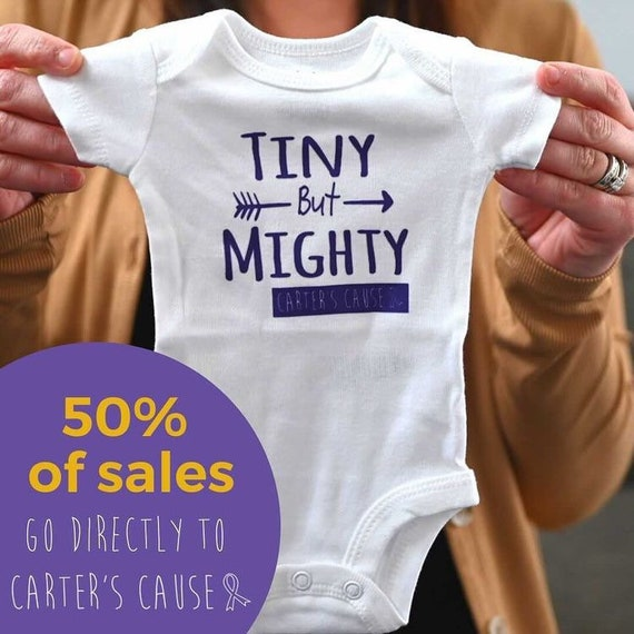 Tiny but Mighty Bodysuit / Preemie boy bodysuit / preemie girl bodysuit / Newborn Fighter / NICU onesie / Preemie Girl clothes / preemie boy