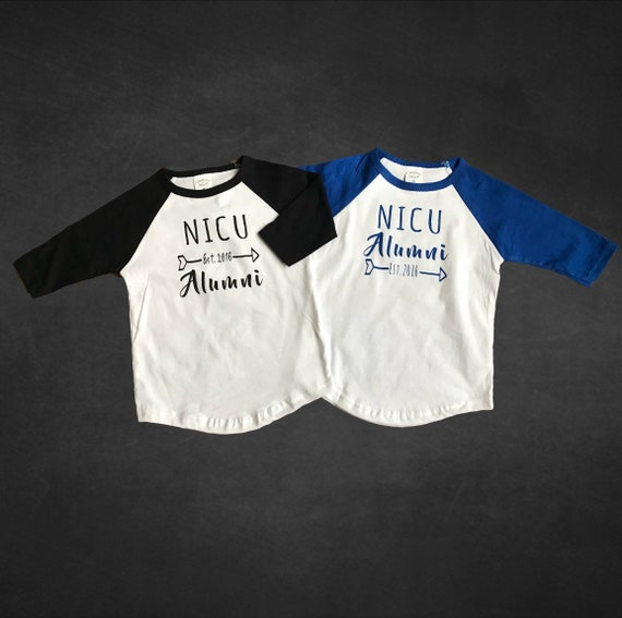 Personalized with name NICU Graduate and weight. gestational age