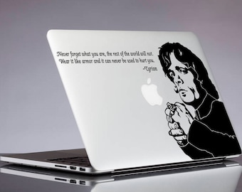 Tyrion Lannister quote decal; the imp dwarf game of thrones glitter sticker for laptop, macbook, car, notebook, tablet, phone, mac