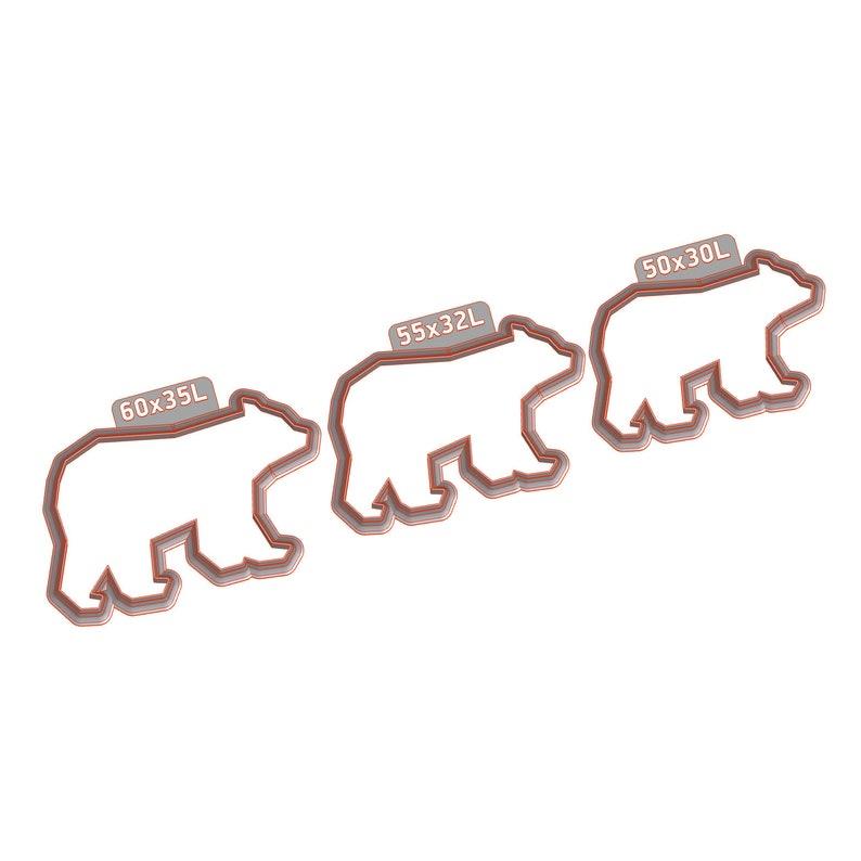 BEAR#1 set Polymer Clay Cutter Tools. Metalclay Cutter Set Cutter set