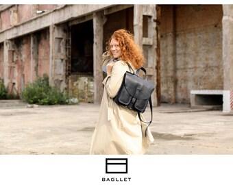 Leather Backpack P032, Handmade backpack, women leather backpack, hipster backpack, womens backpack, laptop backpack