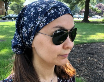 Womens bandana   Cotton headscarf a1680d2d2
