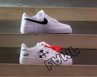 promo code 4bbbd adf72 Nike Air Force 1 OFF WHITE