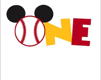 PRIVATE LISTING for asignlet1 Baseball One Mickey First Birthday shirt, Mickey 1st Birthday shirt, Mickey Baseball shirt First Birthday