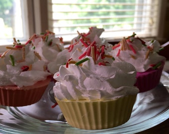 Mini Cupcake soap