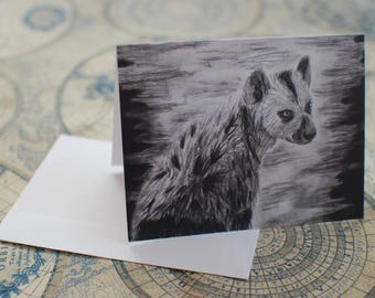 """Charcoal Notecard Set of 10 - 5.5""""x4"""""""