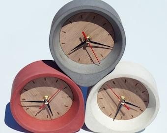 Concrete clock