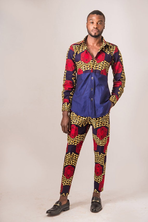 Afrocentric trousers