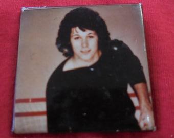 80s Bon Jovi Pin Back Button 1980s