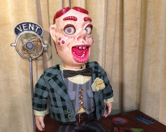 """It's """"ARCHY"""" the Pint Size Punk. A one of a kind Ventriloquists Figure or Puppet."""