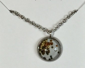Star Gazer Necklace with 20 in Chain