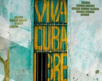 Doors of Havana - Photography Fine Art Print, Decor, Wanderlust, Old Havana Print, Travel Photography, Cuban Art, Urban Art, Havana Art